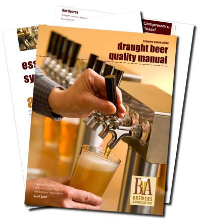 """Just when you wondered """"where's the manual on draught beer quality"""", here it is!"""