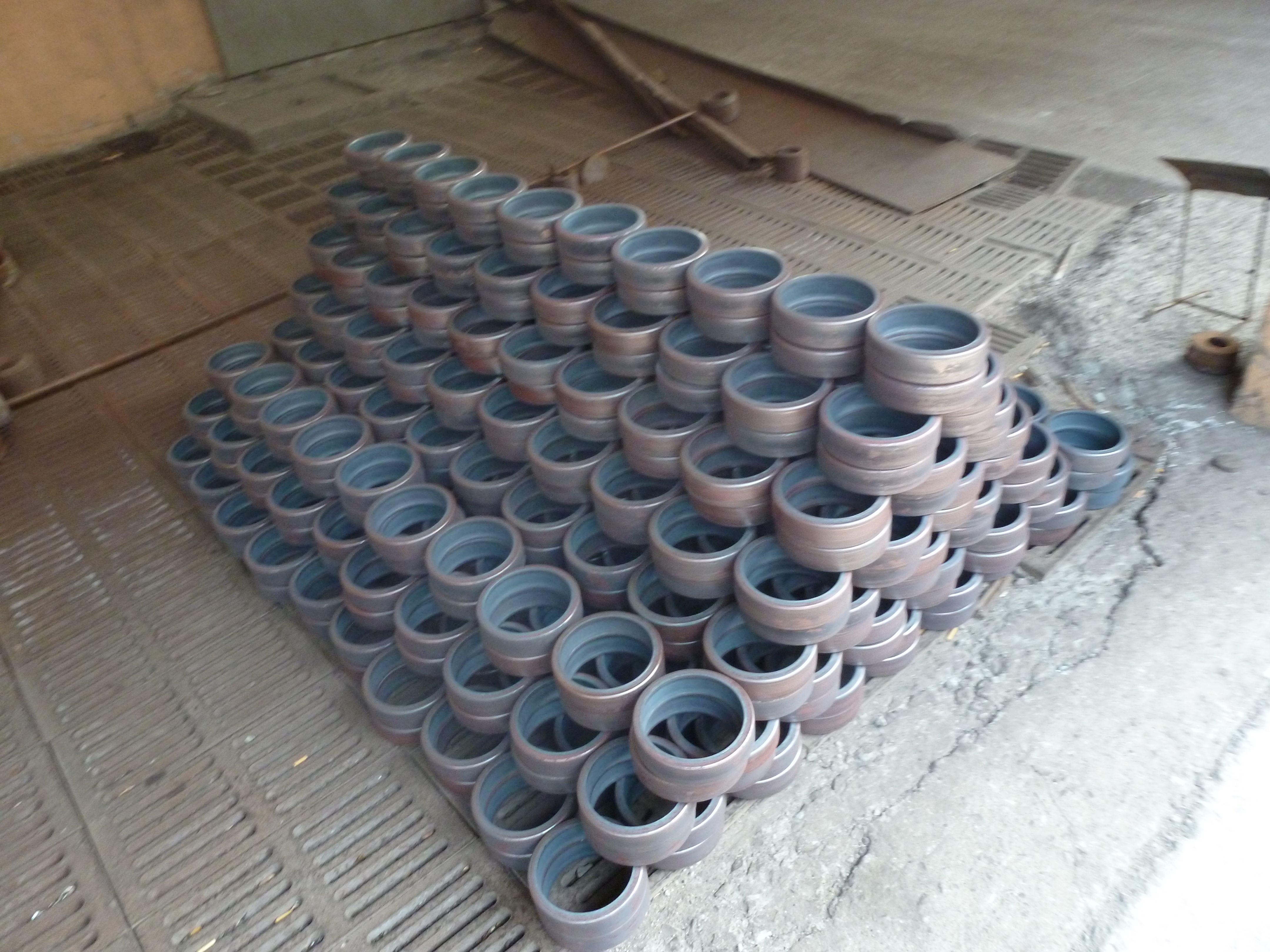 free gallery products rolled pipes web long foritex deep od mm bored fittings steel rings forged x