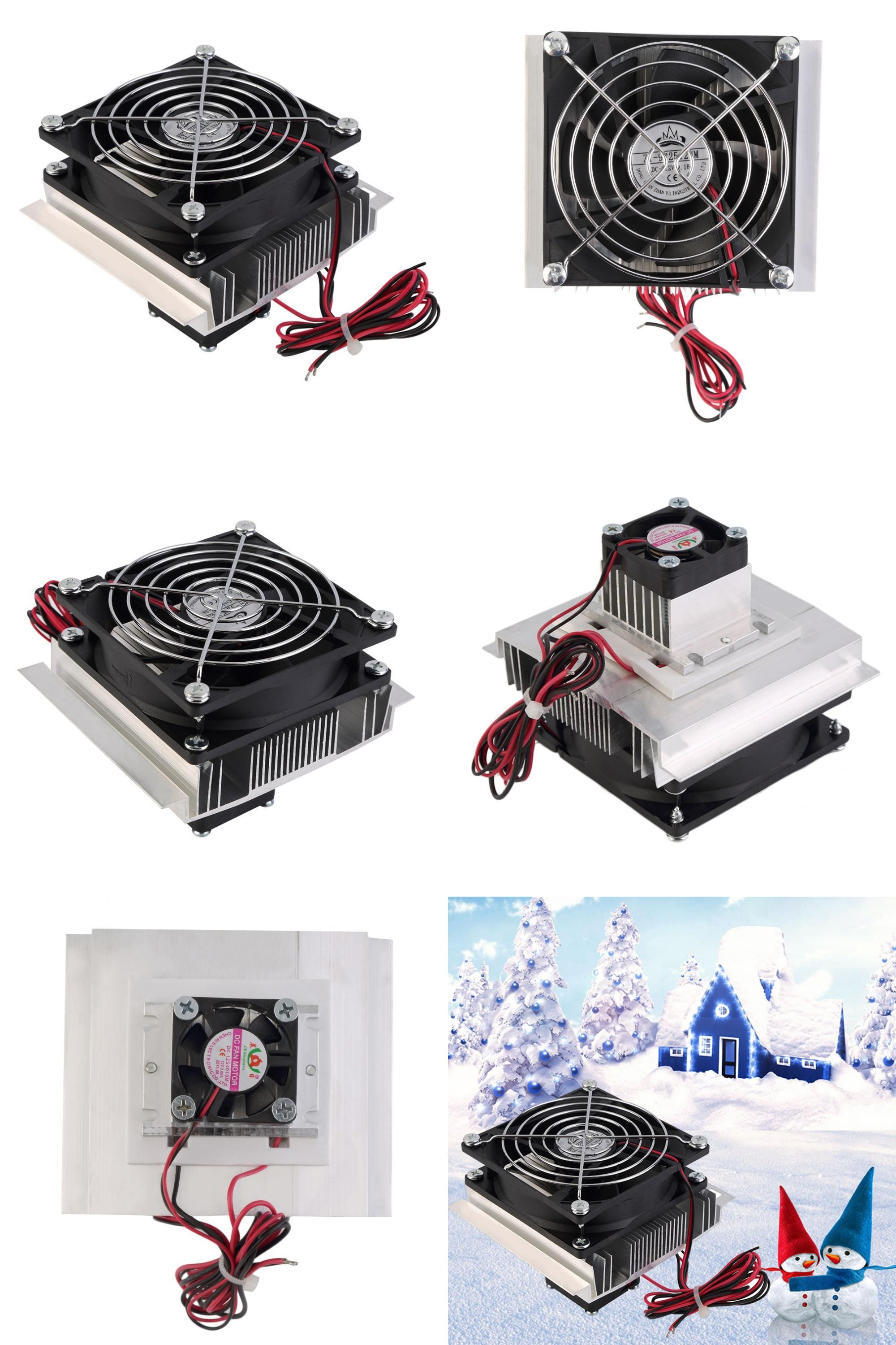 Visit to Buy] 60W Thermoelectric Peltier Cooler Refrigeration