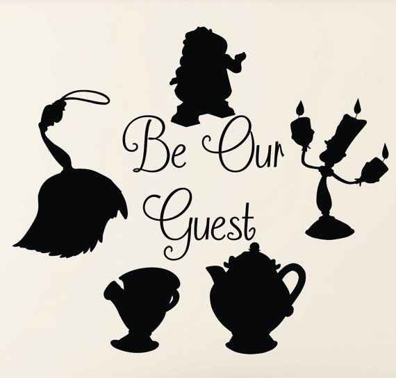 Disney Beauty And The Beast Be Our Guest By Tannerscreekdesigns