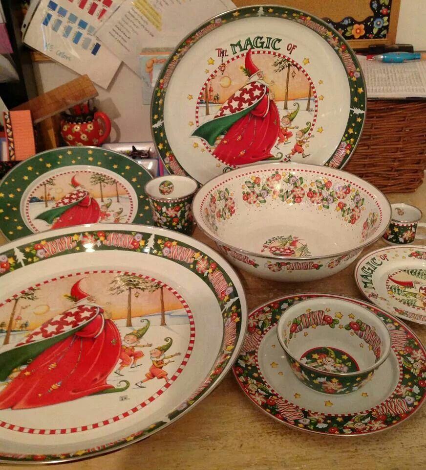 Mary Engelbreit Christmas Dinnerware Available In October