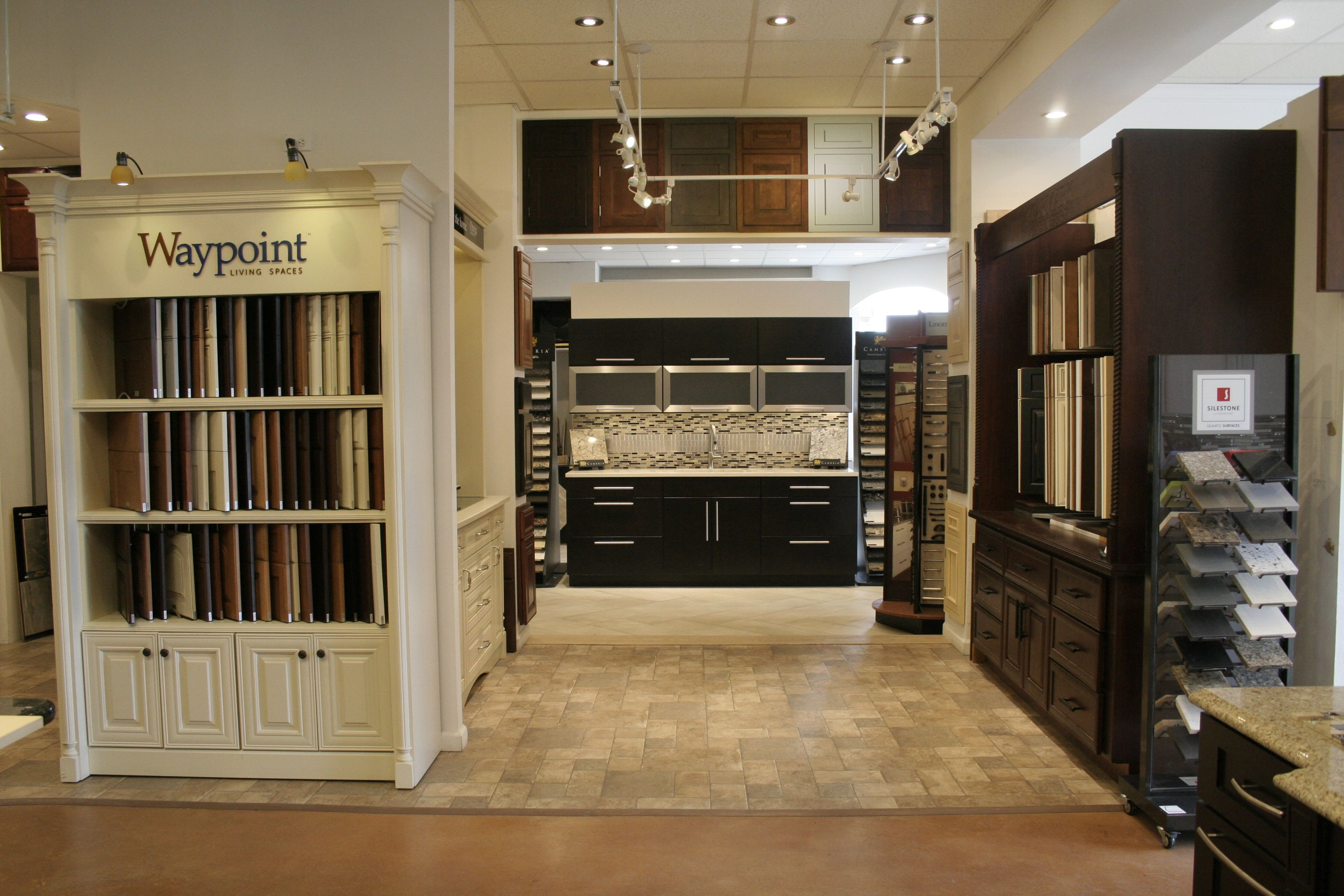 Waypoint And Starmark Kitchen Cabinet Door Display Kitchen
