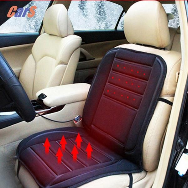 12V Winter Car Seat Warmer Cover Cold Days Heated Cushion Auto Heating