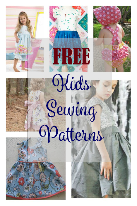 FREE Sewing Patterns for Kids | Kids Clothes | Pinterest | Sewing ...