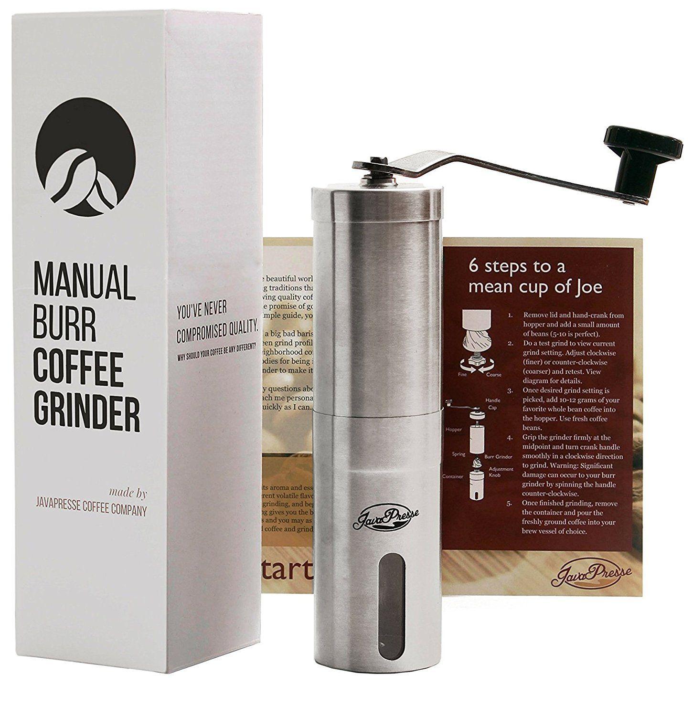 JavaPresse Manual Coffee Grinder Best Price Review in 2019