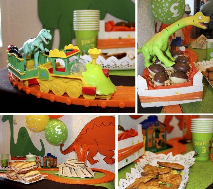 Ideas para fiestas de cumplea os infantiles dinotren - Fiesta cumpleanos infantil ...