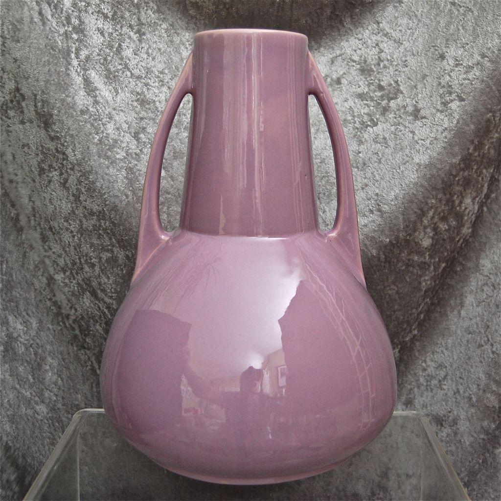 "Roseville Pottery Rosecraft Vase 18212"", Orchid, Circa"