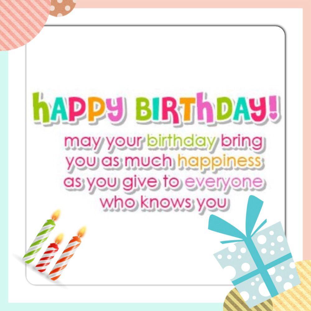 Happy Birthday Quotes Pinterest. QuotesGram