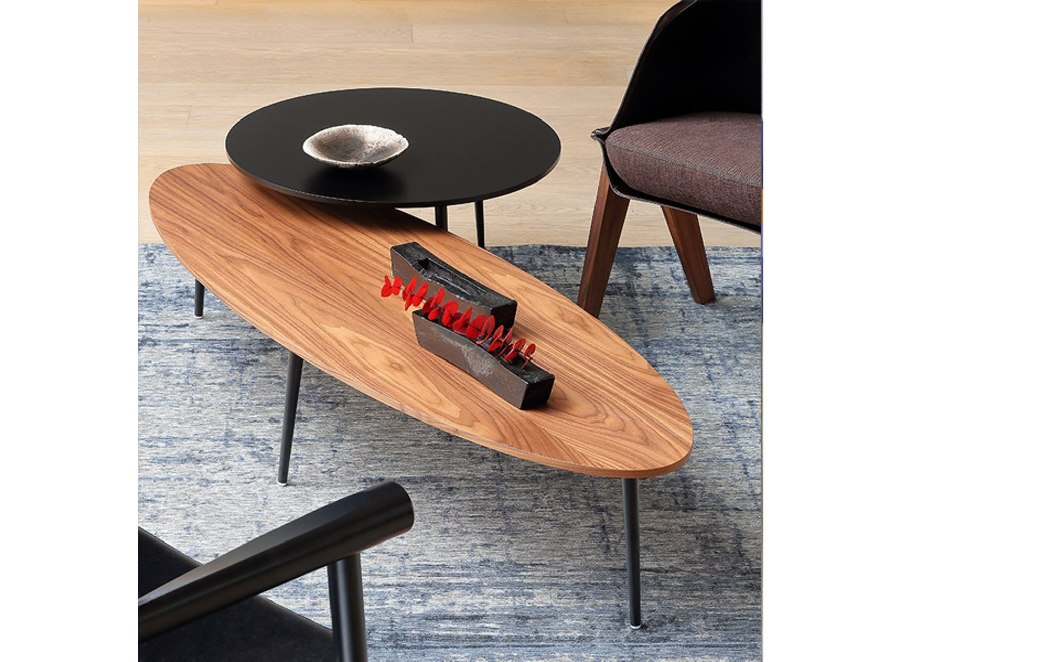 Soho Coffee Table By Coedition Now Available At Haute Living A Certified Dealer Of Coedition Furnitur Oval Coffee Tables Coffee Table Marble Top Coffee Table [ 1313 x 2100 Pixel ]