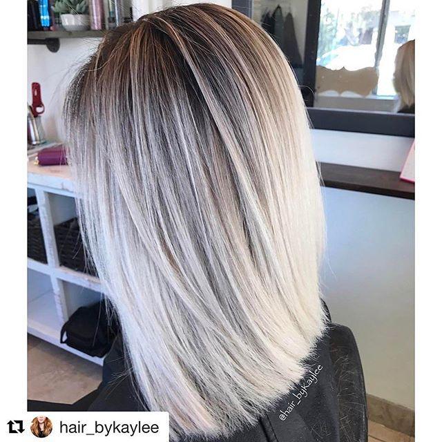 Love this Ice Blonde by @hair_bykaylee Amazing work!