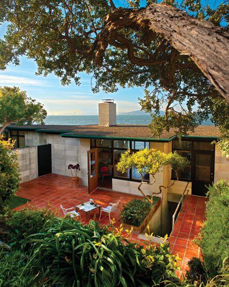Home by William Wurster, Point Richmond | Mid Century Architecture ...