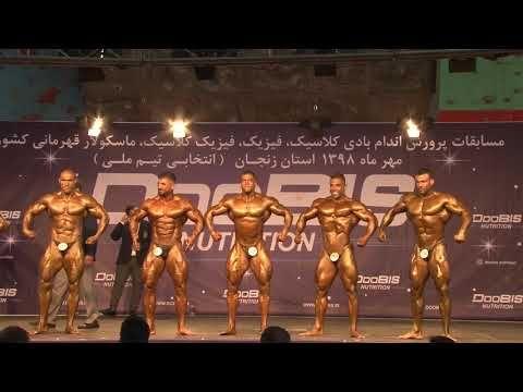 رقابت دسته 100 کیلو گرم قهرمانی کشور در شهر زنجان