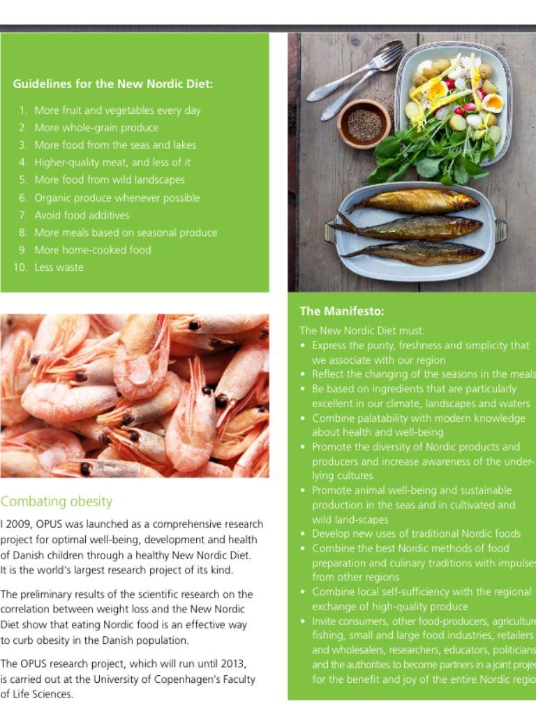 Scandinavian diet for weight loss: menu, reviews 67