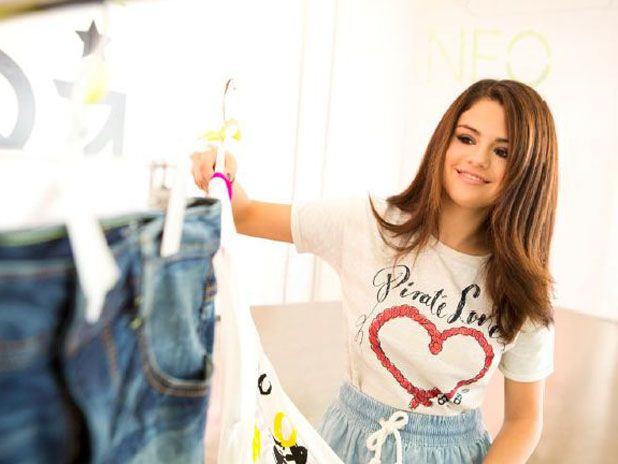 Selena is taking a look at the wide range of adidas NEO clothes.