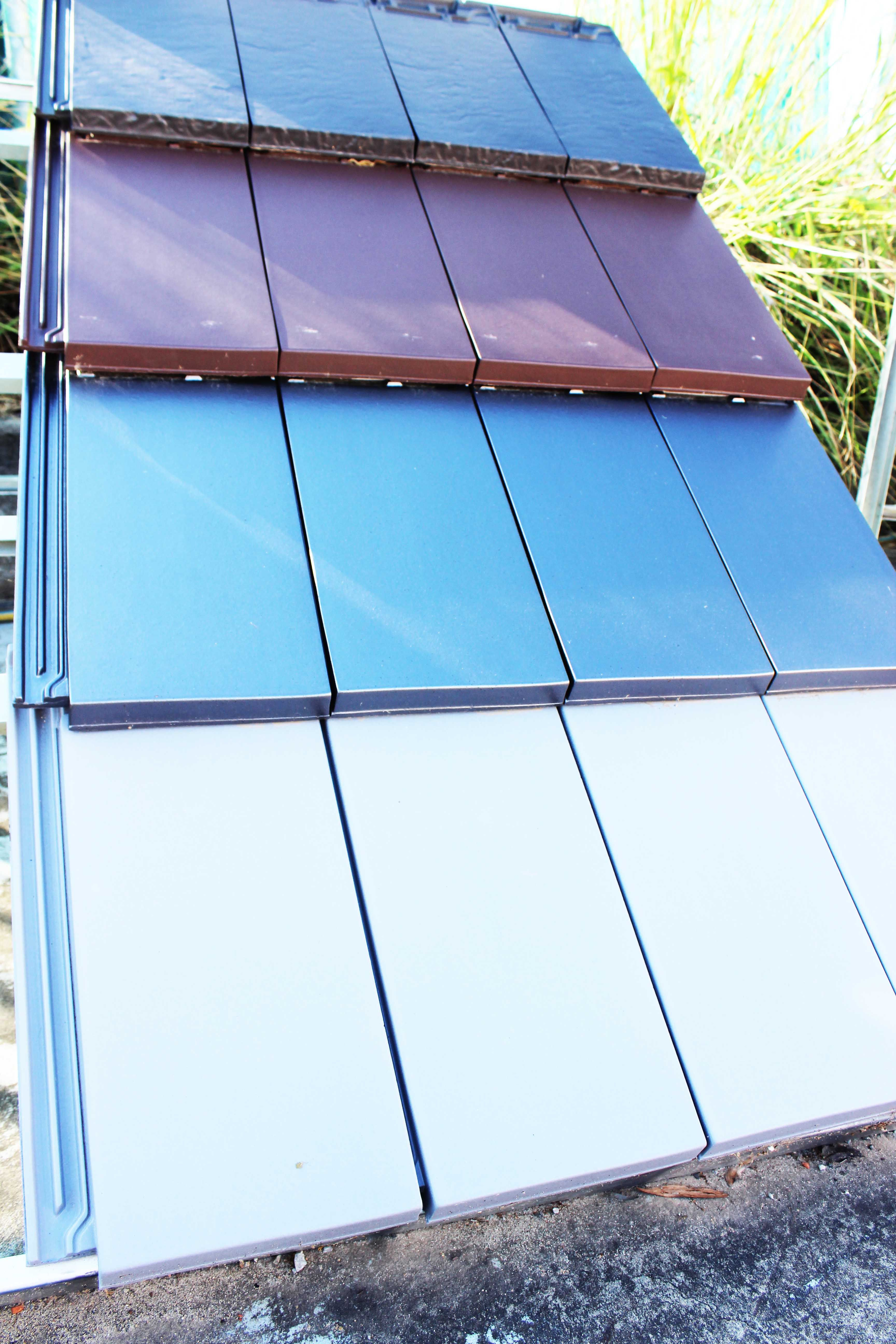Our Plasma Slate Roof Tiles Comes In Many Different Metallic Colours Rooftiles Terracotta Clay Loh Slate Roof Tiles Terracotta Roof Terracotta Roof Tiles