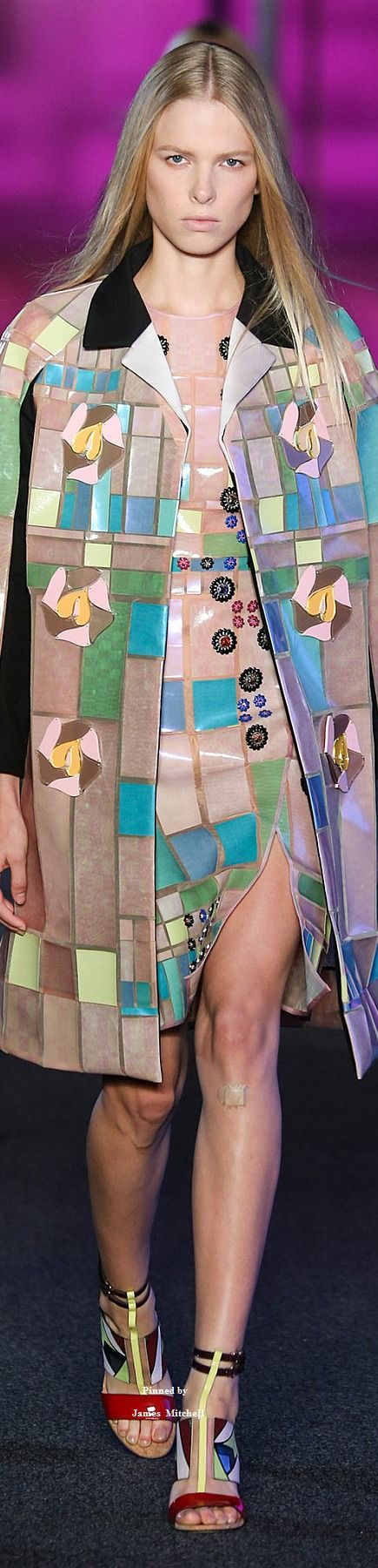 Peter Pilotto Spring 2015 Ready-to-Wear