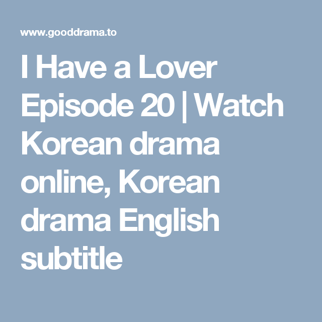 Dating agency ep 1 gooddrama