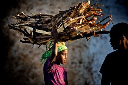 Fuelwood carrier Photo by Trevor Cole -- National Geographic Your Shot Harar, Ethiopia