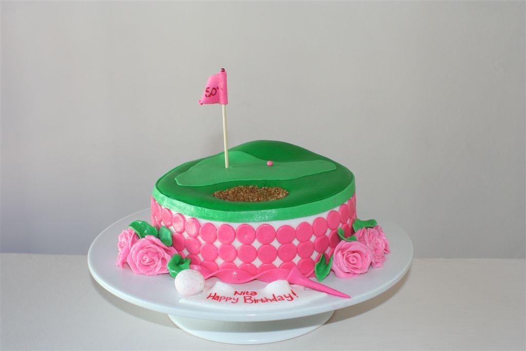 Fine Ladies Golf Cake Golf Birthday Cakes Golf Cake Golf Birthday Party Birthday Cards Printable Opercafe Filternl