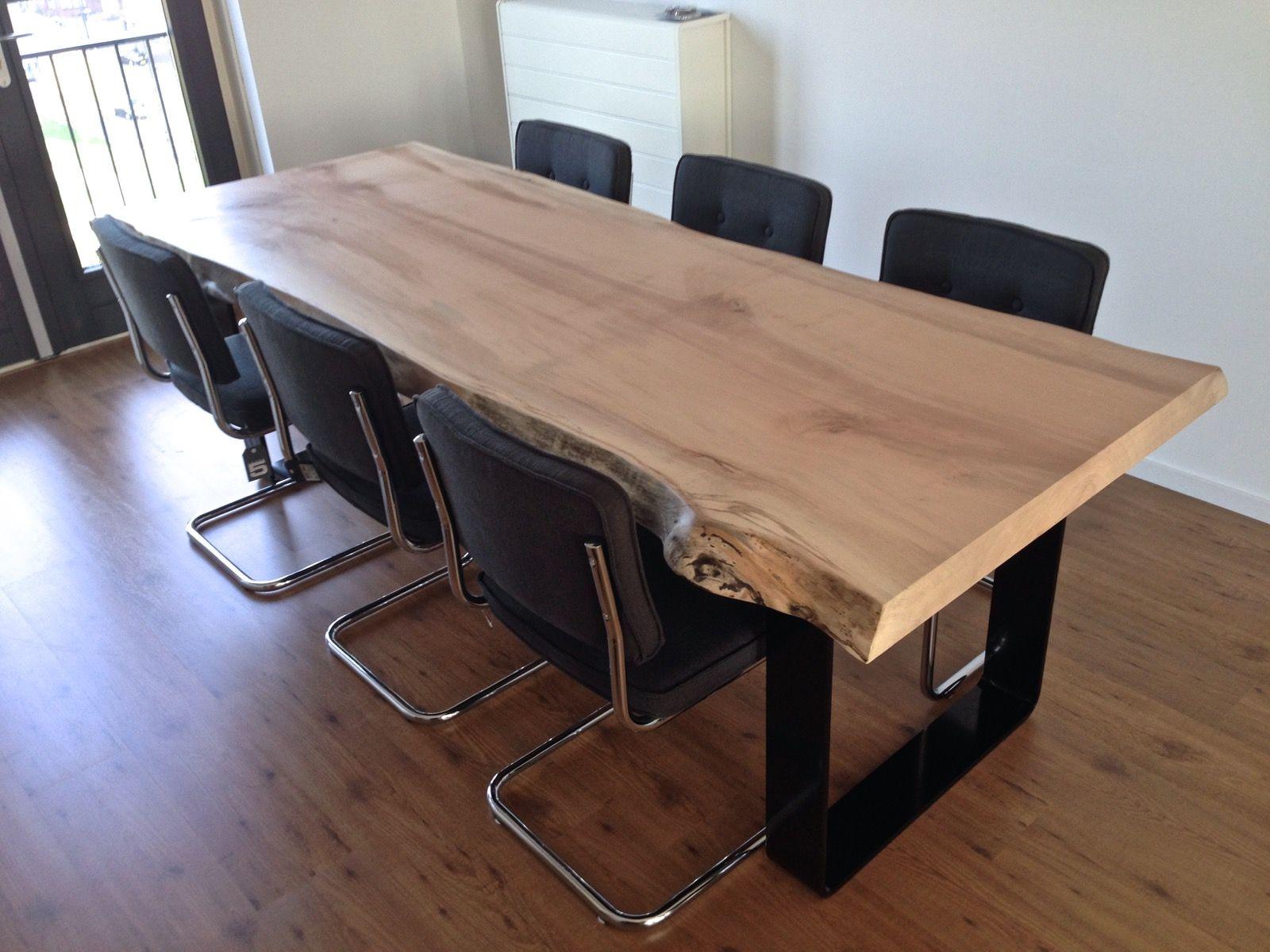 Tafel Uit Een Stuk Hout.Maple Tafel 245 X 90 X 6 Cm Blad Uit 1 Stuk Furniture Table