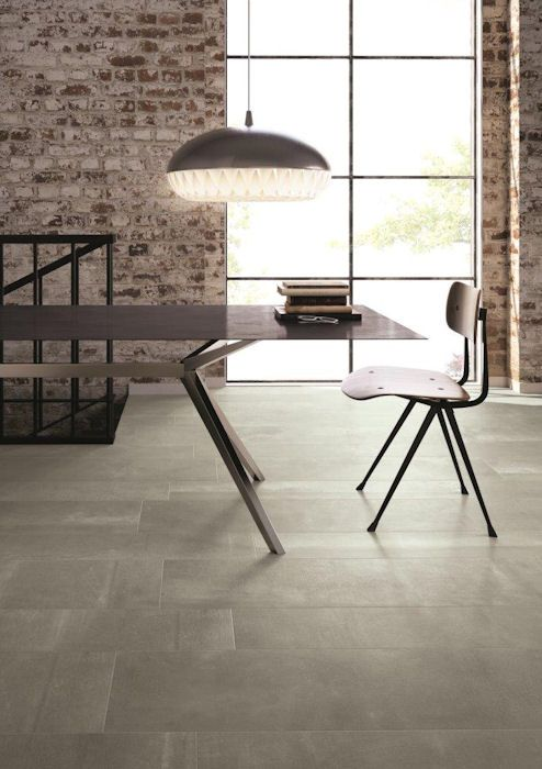 Hessian Grigio Porcelain Tiles Style Textile Effect Large Format Tile Sizes From Mandarin Stone