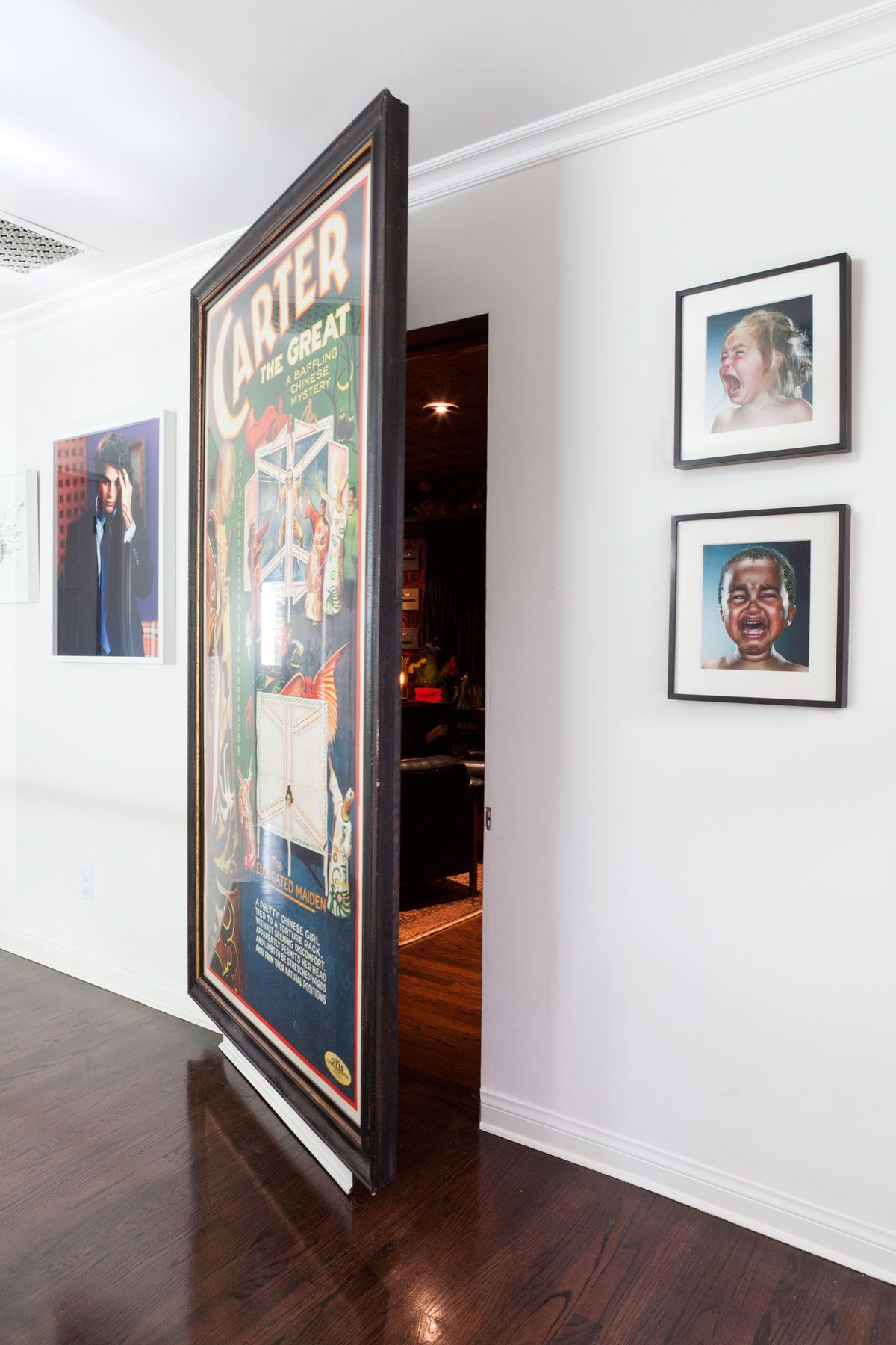 Neil Patrick Harris + Secret Door + Art + Adam Hunter + Magic Room ...