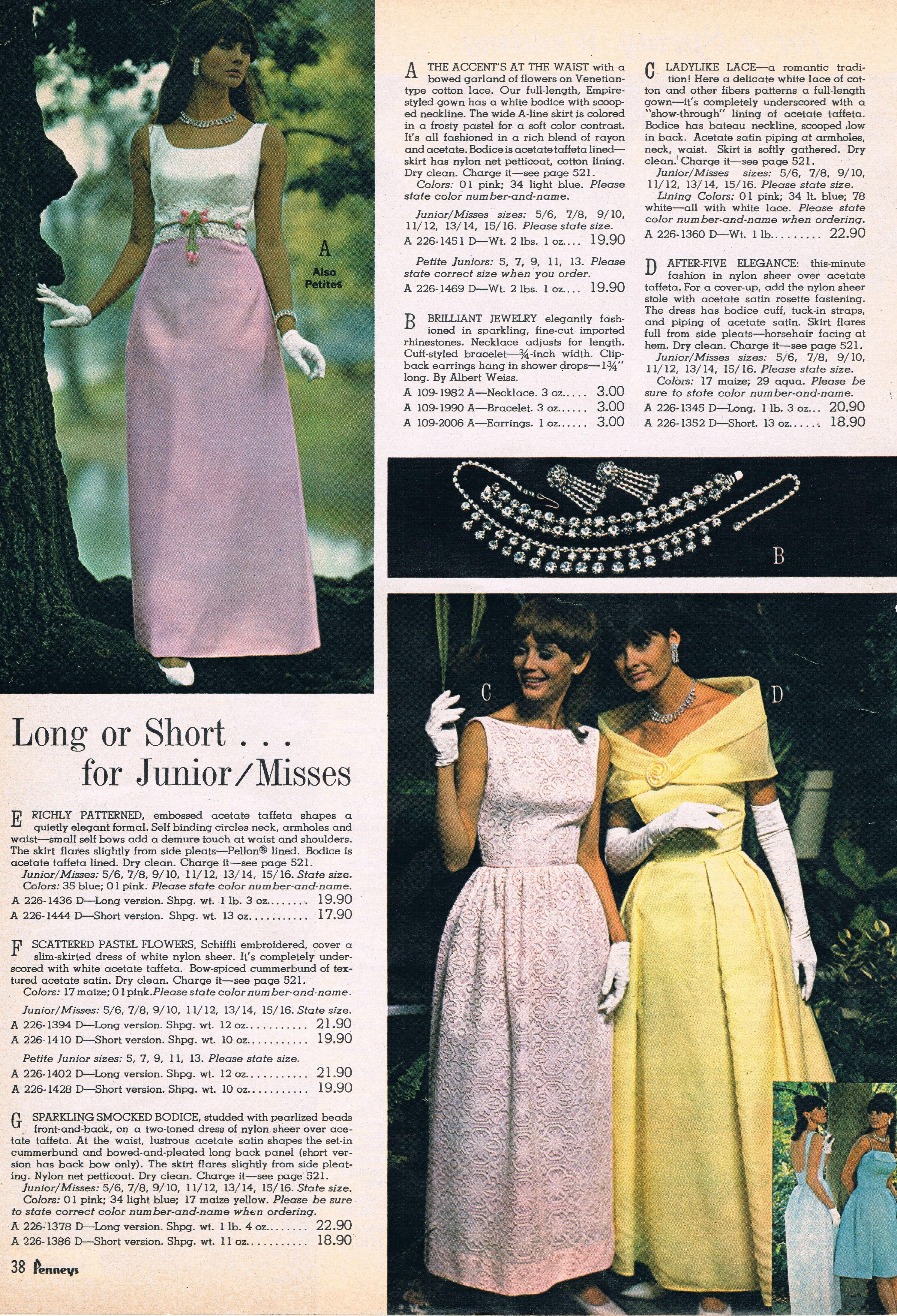 Penneys catalog 60s   classy classic retro dresses   Pinterest