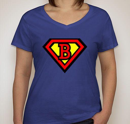 Help our Superman! Fundraiser - unisex shirt design - front