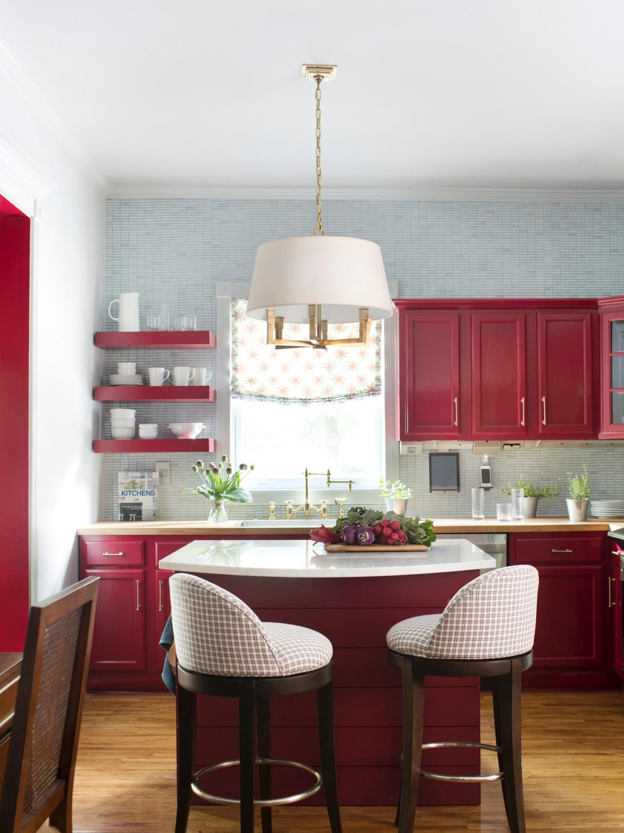 Small Kitchen Makeover Small Kitchen Makeover The Smalls Marble Top And Transitional