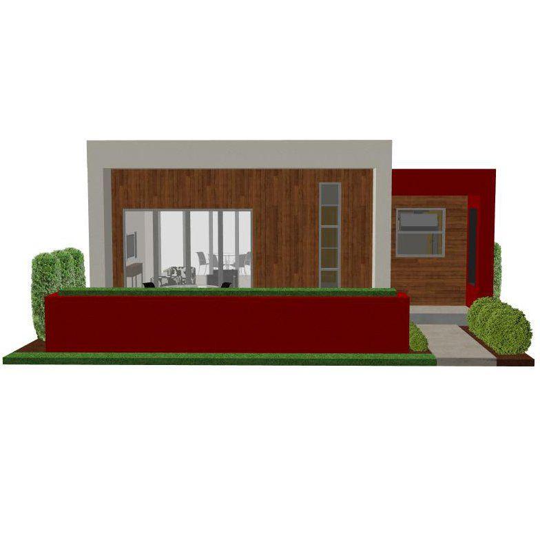 Casita Plan Small Modern House Plan Small modern houses Modern