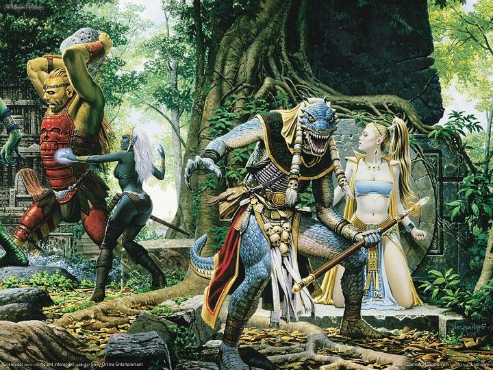 Everquest | everquest   an enduring passion in 2019 | Fantasy art