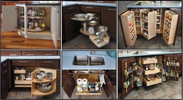Best Starmark Storage Blind Corner Solution Kitchen Corner 400 x 300