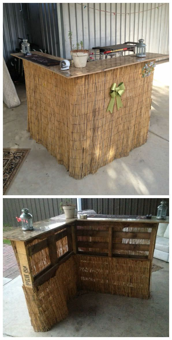 54 Amazing Bars Made From Pallet Wood For Your Inspiration ...