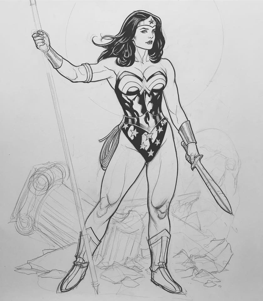 Pin By Nelson Knapp On Frank Cho (With Images)