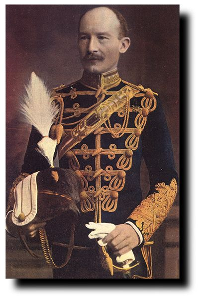 Robert Baden Powell In The British 13th Hussar Uniform Huszár A
