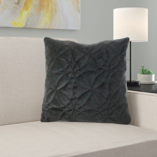 Dekokissen Circle Ophelia Co Farbe Schwarz Größe 60 X