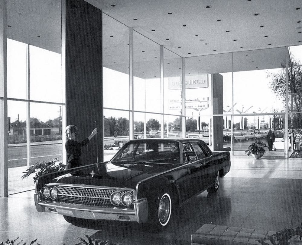 1963 Duffield LincolnMercury Dealership Showroom, Long