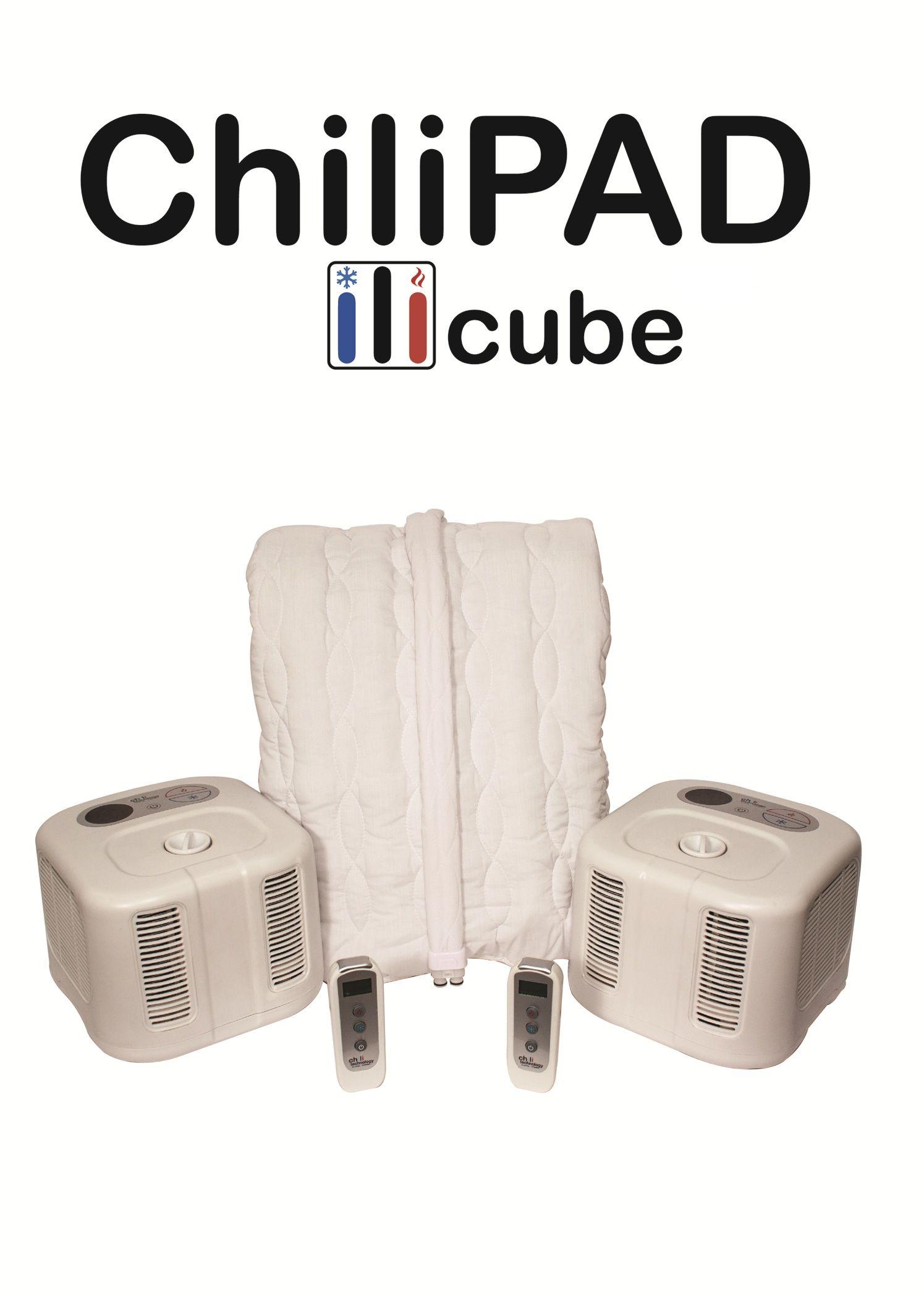 Chilipad Cube Dual Zone Temperature Control Cooling Mattress