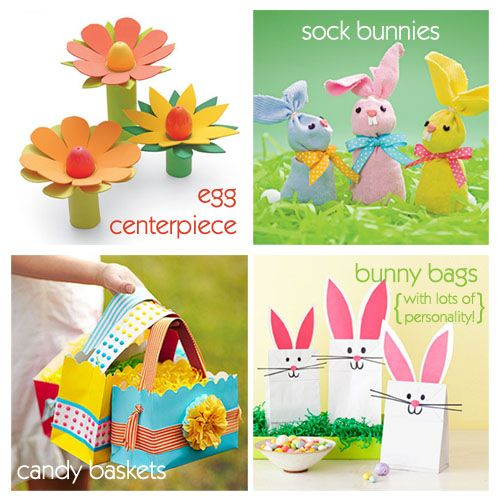 Easter craft ideas to do with the kiddos - it's not too late! #Easter #crafts