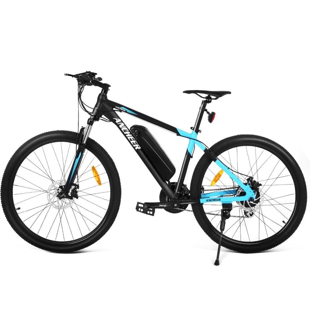 Ancheer 27 5 Inch 350w 24 Speed Electric Bike Mountain Bike Aluminum Alloy Cycling Electric Bicycle Electric Bicycle Electric Bike Electric Mountain Bike