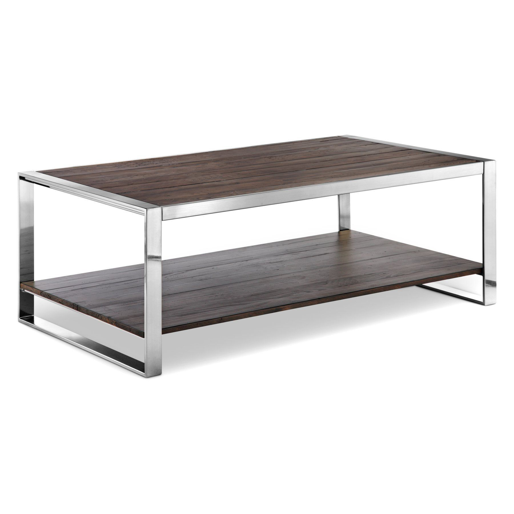 Magnussen Lawson Reclaimed Rectangular Coffee Table   T4339 43
