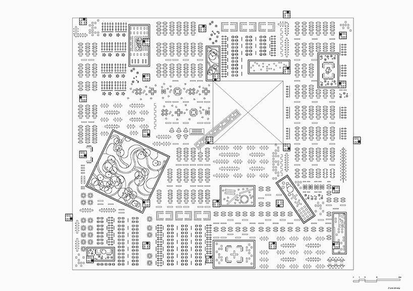 Urban Matrix Mega Block Rockefeller Center Sai Ma Representacao