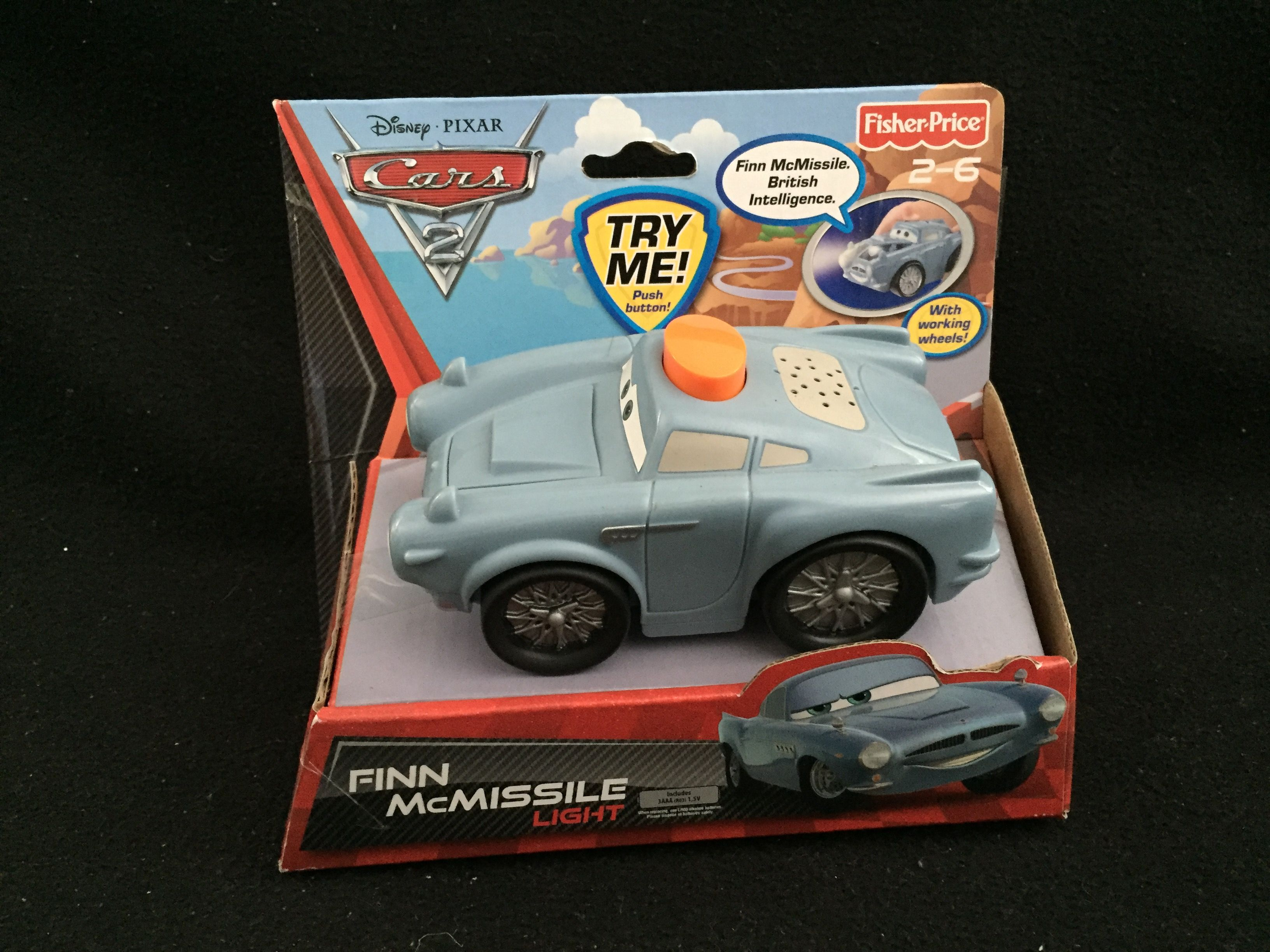 Fisher Price Disney Pixar Cars 2 Light Up Vehicle Disney Pixar