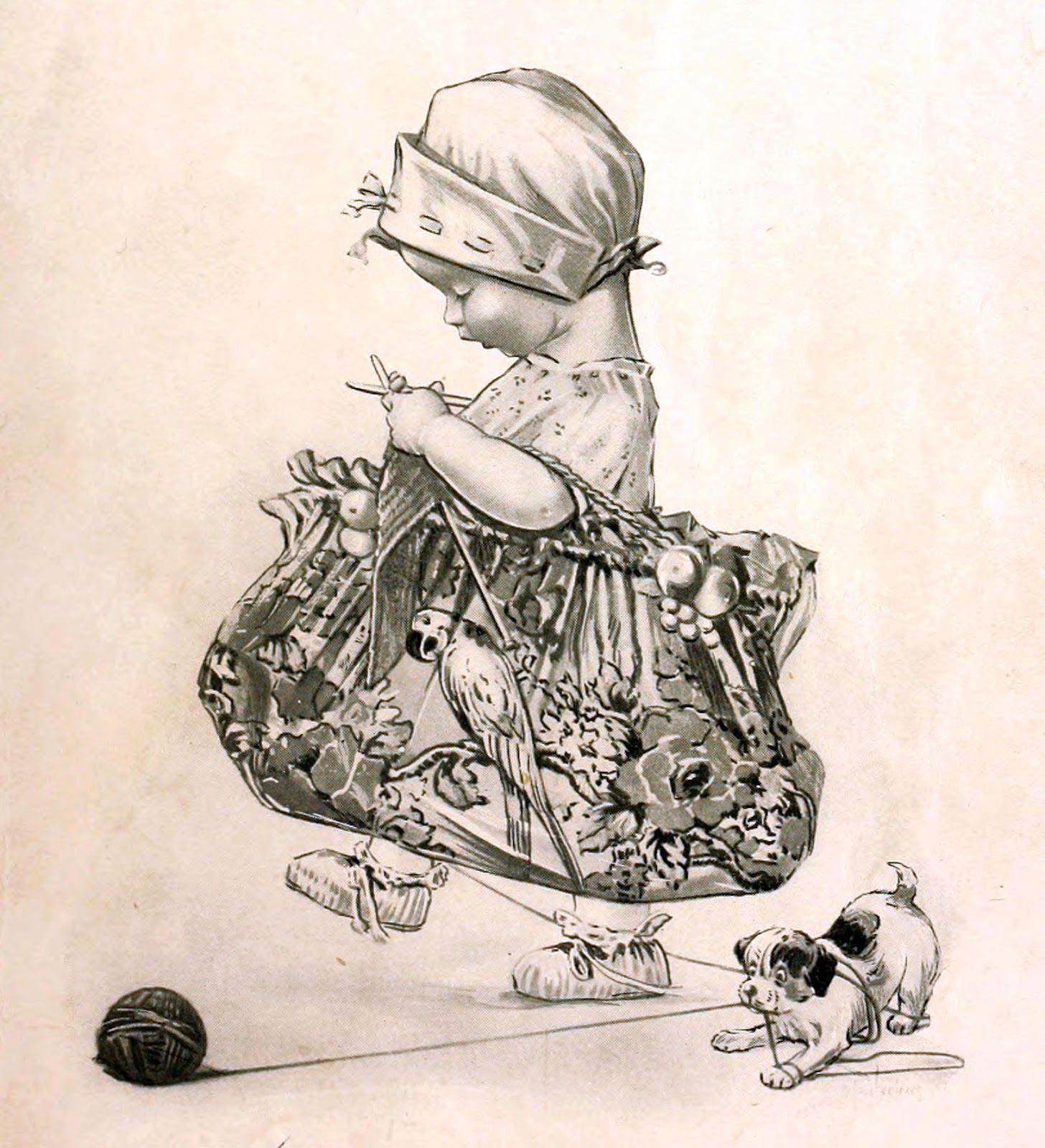 Картинки декупаж дети монохром