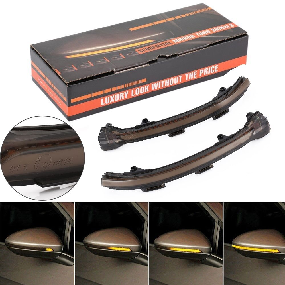 Introducing our lastest LED Rearview Mirror Indicator Blinker Repeater Light Dynamic Turn Signal Bl