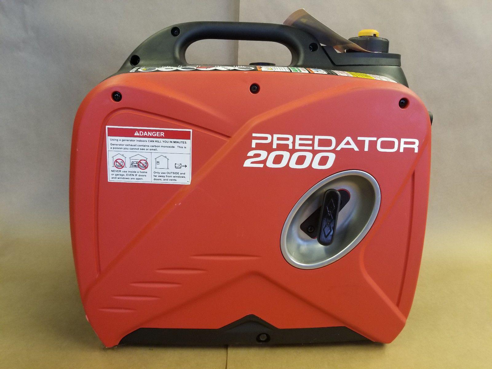 Predator 2000 Watt Inverter Generator no box never used