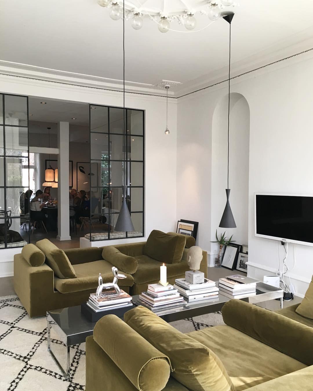 Elle dk on instagram  cnaja munthe har inviteret os ind  sit smukke private hjem og byder  overd dig brunch kollektionsfremvisning   also best luxury interior design group images in living room rh pinterest