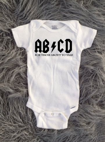 a2ef20859c5f Punk Rock Baby, Punk Rock Toddler, acdc baby, abcd baby, rocker baby, rock  and roll baby, parents love punk rock, rockstar baby, rockstar by  KyCaliDesign on ...