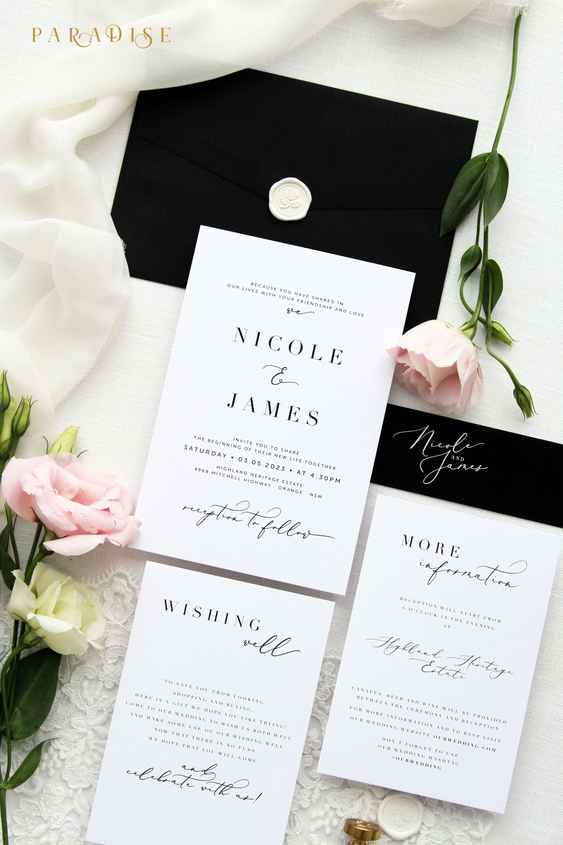 Wedding Invitations Near Me In 2020 Cheap Wedding Invitations Calligraphy Wedding Invitation Modern Wedding Invitations