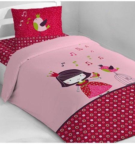 parure de lit enfant princesse guinguette quilt pinterest. Black Bedroom Furniture Sets. Home Design Ideas